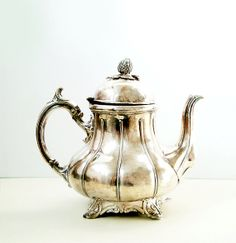 Antique Silverplate Teapot by Philip Ashberry & Sons of Sheffield , England , Very Rare Coffee Pot on Etsy, $145.54 AUD