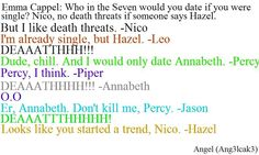 oh my goodness hahahaha Percy Jackson