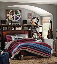 -Boy bedroom..