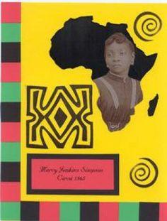 Kwanzaa Africa Memory Page