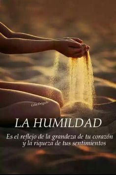 Seamos humildes...