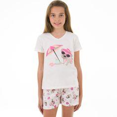 Pijama Pzama Malha Curto - Encontre esse pijama infantil em nossa loja!