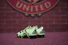 Adidas boots at Old Trafford