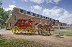 The Fort Robinson Stagecoach Express. Photo courtesy Nebraska Tourism