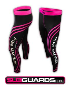 Pink Machine workout Spats! Great for CrossFit, BJJ, Grappling and many other sporting activities #BJJ #CrossFit #Grappling #MMA #Pink