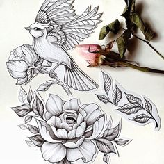 Free sketches/Свободные эскизы #tattoo #sketch #linework #tattooed #flowers #freesketch #blackwork #girl #whipshading #tattooart #delicate #art #line #tattooedgirls #tattoosketch #black #flowertattoo #love #followme #москва #эскизтату #эскиз
