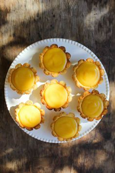Lavender and Lemon Tarts - Gluten, Dairy & Sugar-Free!