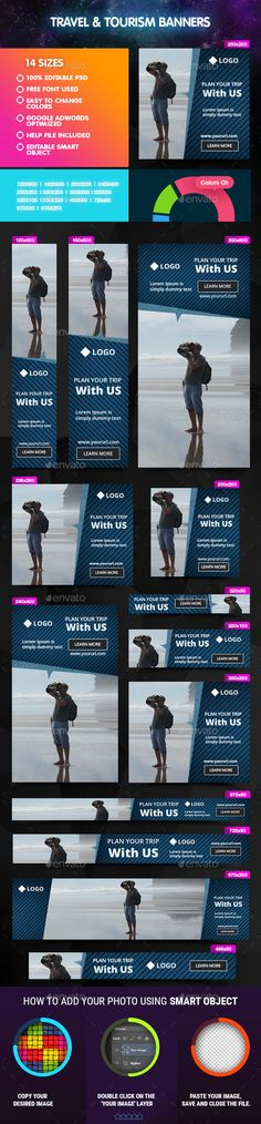 Travel & Tourism Banners