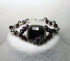 Crystal Design, Glass Pendants, Silver Beads, Swarovski Crystals, Weave, Deep, Facebook, Link, Bracelets