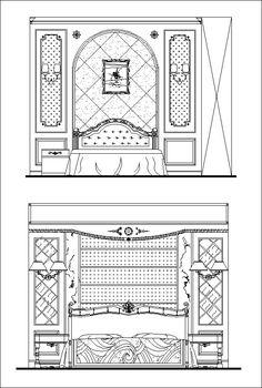 Furniture Blocks Furniture Elevation Door And Window Design