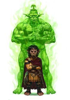 Occult Adventures- Paizo by orangus on DeviantArt Fantasy Wizard, Fantasy Warrior, Fantasy Rpg, Medieval Fantasy, Dark Fantasy, Fantasy Character Design, Character Concept, Character Inspiration, Character Art