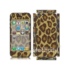 Animal pattern Skin Cover Screen Protector for Apple iPhone 5 (Style 2) [CCSK-PHVPL18] - $12.00 : Leopard 2