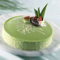 With Mother's Day coming up, what a perfect excuse to make this decadent Matcha tea cake! #zhitea