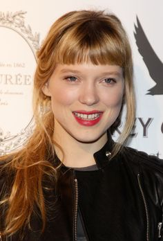 Lea Seydoux Hosts Grey Goose Christmas Boutique Opening