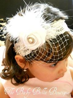 The Baby Bella Boutique has so much cute stuff, but I am going to have to start DIYing! Vintage Headbands, Lace Headbands, Diy Headband, Baby Girl Headbands, Do It Yourself Wedding, Fabric Flowers, Silk Flowers, Hair Flowers, Diy Hair Accessories