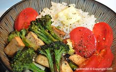 simple vegetarian meals | Simple Fare ~ Sunday Dinners Remembered - FigsWithBri.com