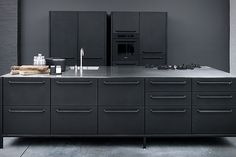 #kitchen #black #Vipp Kitchen Modules