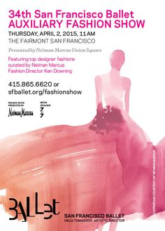You're Invited to the SF Ballet's Fashion Show [Dedicated]