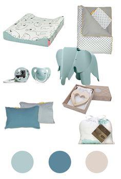 Kinderzimmer Eisblau