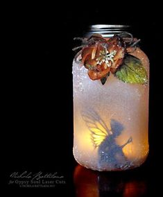Fairy Jar Lanterns Are Easy To Make And Look Great | The WHOot #ArtsandCrafts #candlemaking