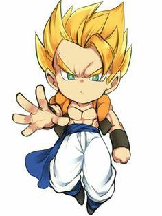 Risultati immagini per dragon ball broly chibi Anime Chibi, Manga Anime, Chibi Goku, Vegito Y Gogeta, Chibi Characters, Dragon Ball Gt, Anime Comics, Character Art, Akira