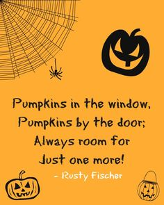 Just one more... A Halloween poem
