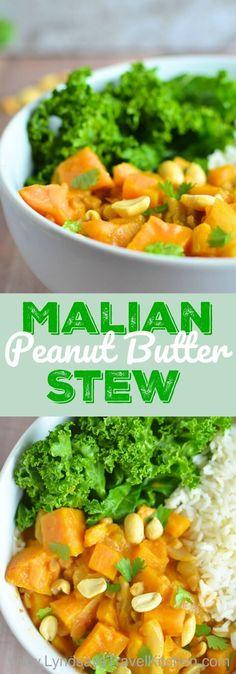 Malian Peanut Butter Stew