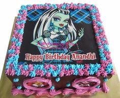 Monster High Birthday Cake Party Ideas Pinterest
