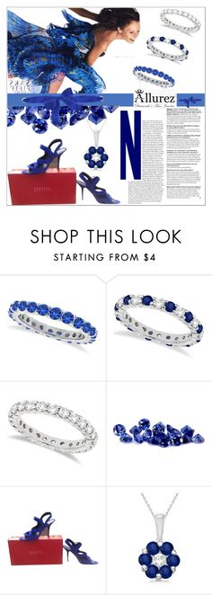 """1"" by mujkic-merima ❤ liked on Polyvore featuring Allurez, bleu, EDMUNDO CASTILLO and allurez"