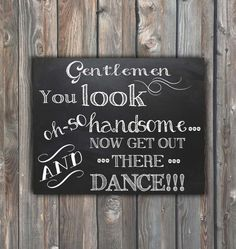 Wedding Bathroom Sign–You Look Oh So Handsome–Gents Bathroom Sign–Chalkboard Sign–8x10 Printable Sign-Toiletries Sign-Instant Download