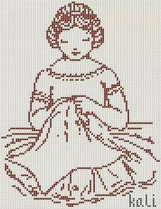 Mujer bordadora