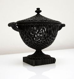 The Wedgwoodn't Tureen, Rapid Manufactured with non-fired ceramic coating. Private Collection. Michael Eden.