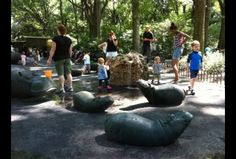 Destination Playground: Hippo Playground in Riverside Park   MommyPoppins - Things to do in New York City with Kids