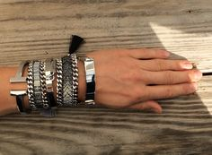 the more the better /// silver plated armcandy from Bonk Ibiza ///