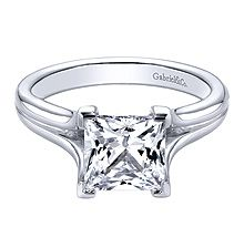 Solitaire pieces such as this one seem to be an on-going trend. Would you rock this princess cut beauty?