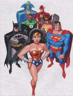 The best incarnation of the JLA ever: Bruce Timm's Justice League animated series