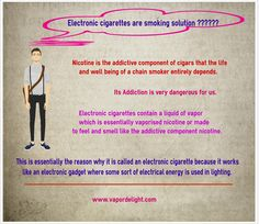 Electronic cigarettes are a smoking solution without fire If there is any old habit that has remained difficult to kick out in the history of humanity, smoking is definitely one of those which top the list. Smoking has for a long time claimed thousands of lives as well as ruined million others.