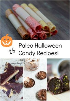 Paleo Halloween Candy Roundup by Thriving on Paleo - 26 gluten-free, Paleo, and primal recipes to make sure you and your kids have a healthier Halloween!