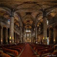 Santa Maria del Mar by Angel Usero on 500px