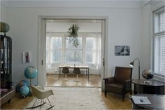 Swiss artist Nives Widauer's apartment