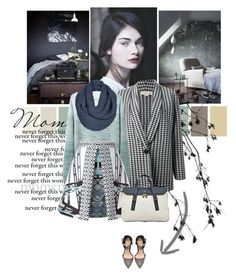 """""""Ingrid"""" by daha-mk ❤ liked on Polyvore featuring STELLA McCARTNEY, Band of Outsiders, Mary Katrantzou, Topshop, FOSSIL and Zara"""