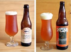 Two great pumpkin ales. We love seasonal beer, and pumpkin is our favorite!