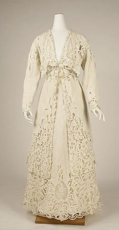 Suit Made Of Linen And Cotton - American Or European   c.1904  -  The Metropolitan Museum Of Art