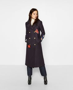 PATCH COAT-View all-OUTERWEAR-WOMAN | ZARA Norway