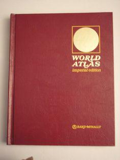 1971 World Atlas Imperial Edition By Rand McNally by daddydan