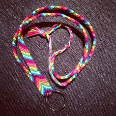 Handgjort nyckelband