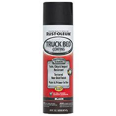 Professional Grade Truck Bed Coating delivers high quality results with the touch of a button. This truly unique, new to the market coating is fade, chip and impact resistant. It provides truck beds with a textured finished that guarantees maximum adhesion. Rust-Oleum® Truck Bed Coating renews and protects surfaces while providing do-it-yourselfers with a professional finish for their truck beds.