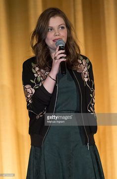 Actress Georgie Henley attends 2015 Atlanta Film Festival 'The Sisterhood Of Night' movie...
