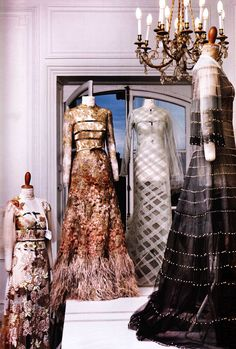 Inside the atelier for Valentino haute couture f/w 2011, photographed by Patrick Kinmonth / Pop Magazine