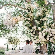 Revelry Event Designers: The wedding embraced an ethereal and garden inspired vision. Featuring our bar and decor.